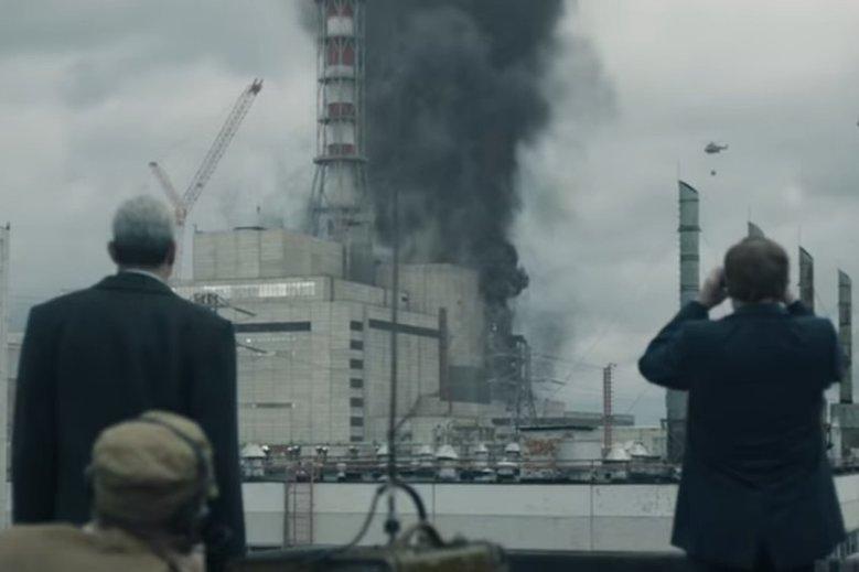 """Kadr z serialu """"Czarnobyl"""". Zdjęcie poglądowe."""