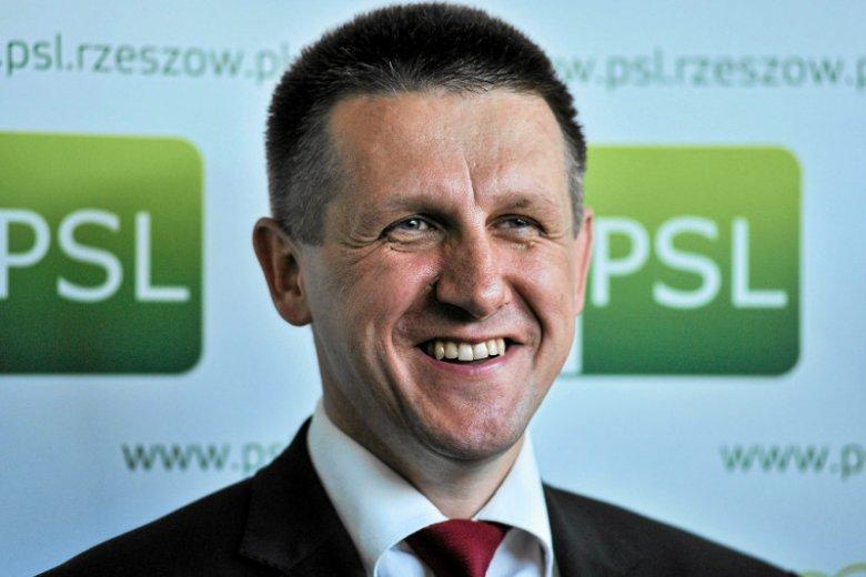 Poseł Jan Bury z PSL czerpie korzyści z kontaktów, jakie spółka, w której ma udziały, podpisuje z państwowymi agencjami