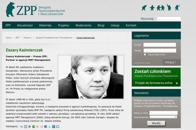 Cezary Kaźmierczak, prezes ZPP, ostro skrytykował słowa Piotra Dudy.