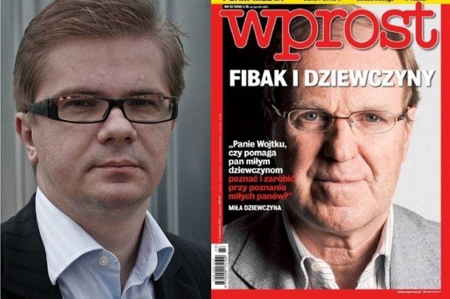 """Sylwester Latkowski vs Wojciech Fibak. Czytelnicy i dziennikarze podzielili się w ocenie artykułu """"Wprost"""""""