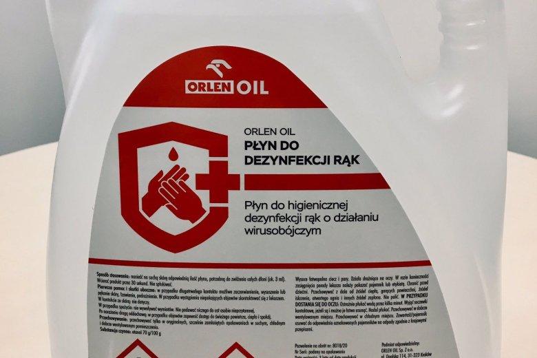 Orlen wypuścił swój własny płyn do dezynfekcji rąk. Cena dla wielu osób może być zaporowa