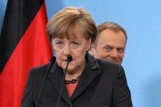 """Według niemieckiej  prasy Donald Tusk """"wbił jej nóż w plecy""""."""