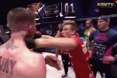 Pojedynek między Parke i Gamrotem zakończył się przepychanką i potężnym ciosem w szczękę Irlandczyka.