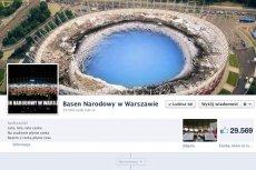 """Profil """"Narodowego Basenu"""" w Warszawie"""