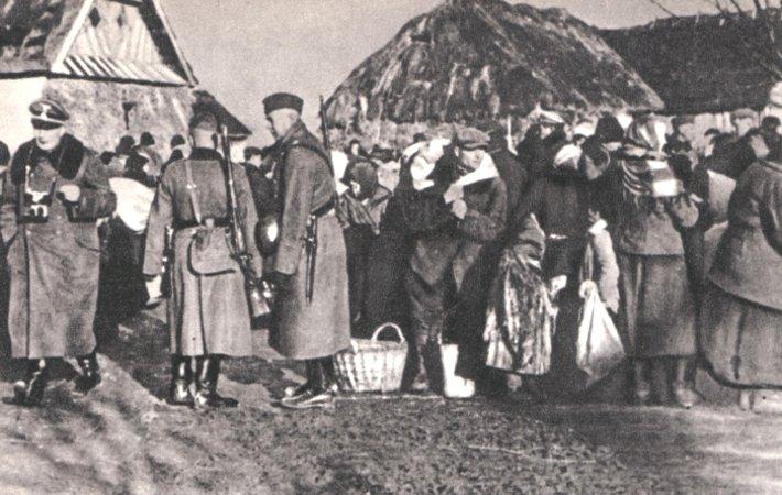 Niemiecka akcja wysiedleńcza na Zamojszczyźnie. Przełom 1942 i 1943 roku.