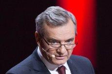 """Jerzy Baczyński, naczelny """"Polityki"""", znów wbił szpilkę ministrowi kultury Piotrowi Glińskiemu."""