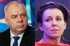 Jacek Sasin wystosował prośbę do Olgi Tokarczuk po jej słowach sugerujących problemy z demokracją w Polsce.