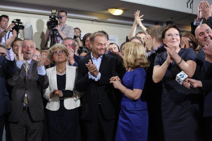 To za czasów Tuska Platforma kroczyła od zwycięstwa do zwycięstwa.