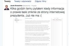 Jacek Brzezinka zaliczył niezłą wpadkę