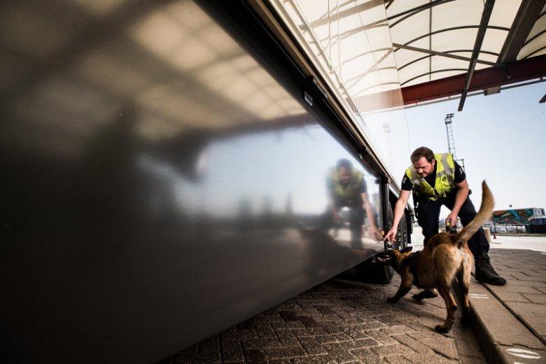 Holenderska policja zatrzymała Polaka, który próbował przewieźć w chłodni siedmiu uchodźców z Kuwejtu.