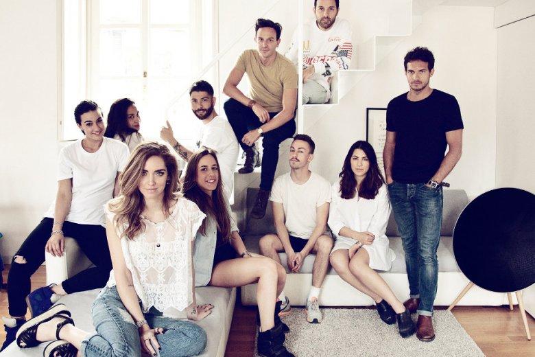 Chiara i jej pracownicy we włoskim biurze