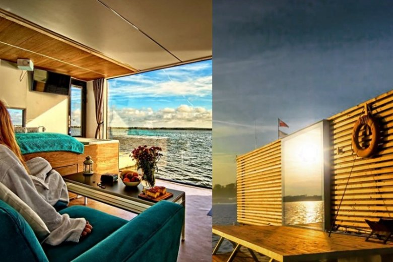 Urocze domki na wodzie znajdziemy m.in. w Mielnie i na Mazurach. To świetna alternatywa dla wszystkich, którzy nie przepadają za zatłoczonymi hotelami