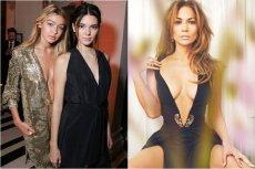 Początkujące gwiazdy modelingu - Gigi Hadid i Kendall Jenner oraz Jennifer Lopez