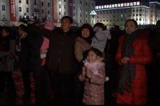 Nowy Rok w Korei Północnej.