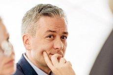 Robert Biedroń ostro występuje przeciwko opozycji. W Słupsku też z PO lekko mu nie było.