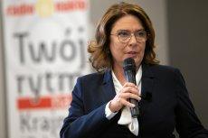 Małgorzata Kidawa–Błońska sugeruje, że odpowiedzialność za atak na sędzię w Rybniku ponosi Andrzej Duda.