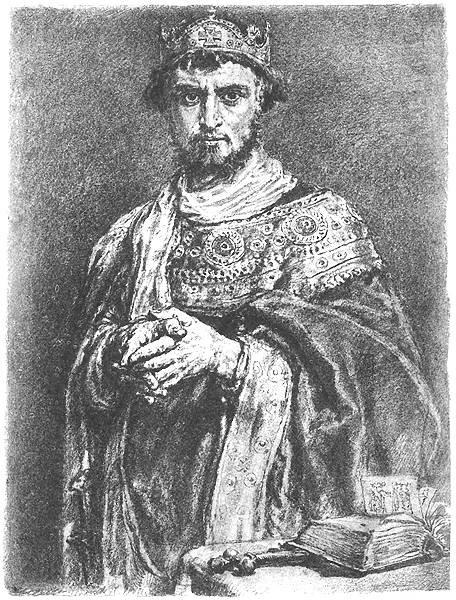 Kazimierz I Odnowiciel. Poczet Jana Matejki.