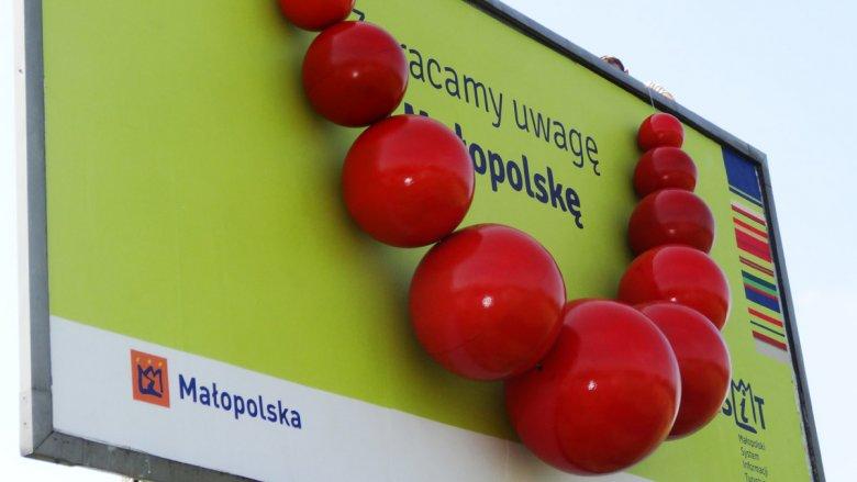 Zwracamy uwagę na Małopolskę - billboard.