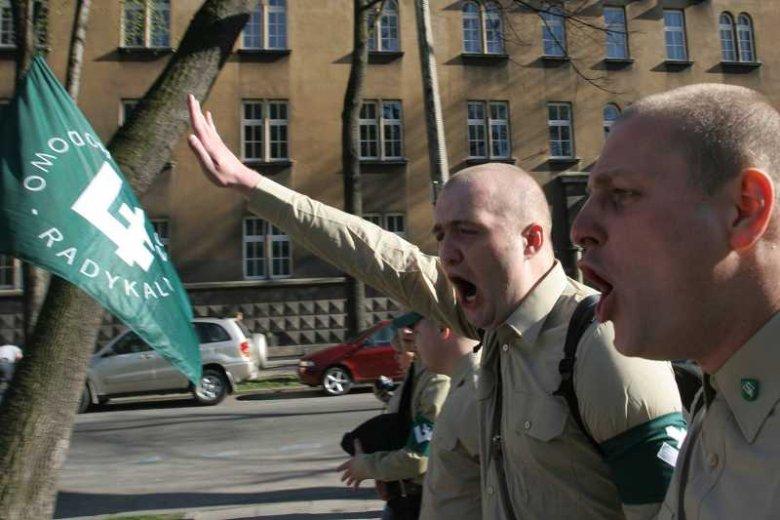 Manifestacja ONR w Krakowie (2007)
