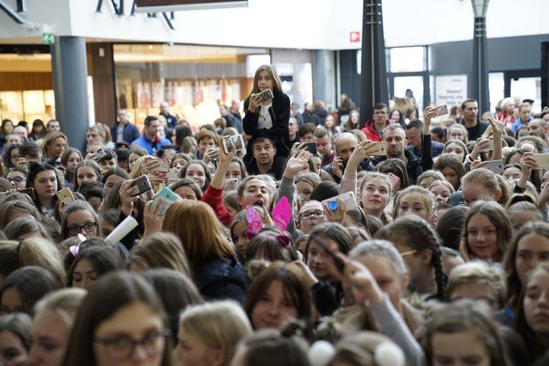 Eventy z udziałem muserów przyciągają mnóstwo fanów