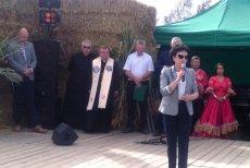 Marszałek Sejmu uczestniczyła w Dożynkach w Grzegorzowie.