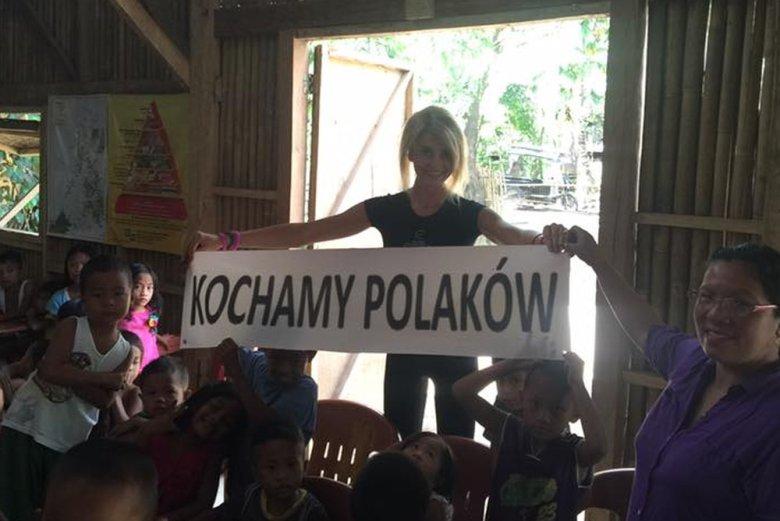 Serafina Ogończyk-Mąkowska prowadzi trzy placówki dla dzieci na Filipinach.