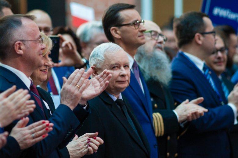 Konwencja PiS w Gdańsku. W tym mieście partia Jarosława Kaczyńskiego doznała druzgocącej porażki.