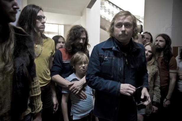 Scena z serialu. W rolę VH wcielił się Marek Daniel .