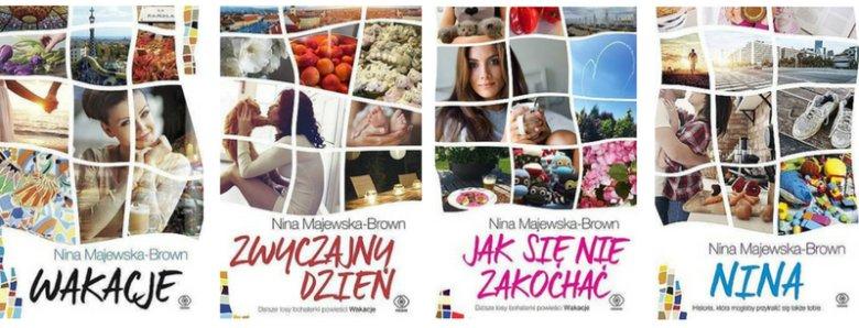 Czteroczęściowy cykl powieściowy, którego główną bohaterką jest Nina Braun, to słodko-gorzka opowieść o kobiecie o przejściach, z którą może utożsamiać się niejedna Polka