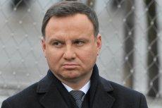 Andrzej Duda nie chce rozmawiać o konkurencji politycznej ze strony Donalda Tuska.