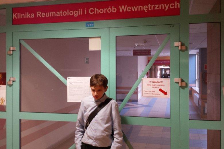 Tomek Nadolski choruje na ultrarzadką chorobę Fabry'ego.