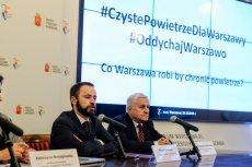 Wiceprezydent Warszawy Michał Olszewski zaprzecza, by ratusz miał coś wspólnego z decyzją o zabudowie parku miejskiego