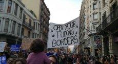 """""""Dziś i zawsze rasizmowi i bigoterii mówimy nie""""- takie zdjęcie na Twitterze kilka godzin po katastrofie zamieścił jeden z Hiszpanów"""