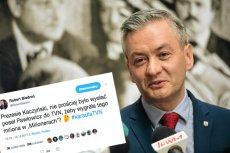 Z taką propozycją Robert Biedroń wystąpił do prezesa PiS.