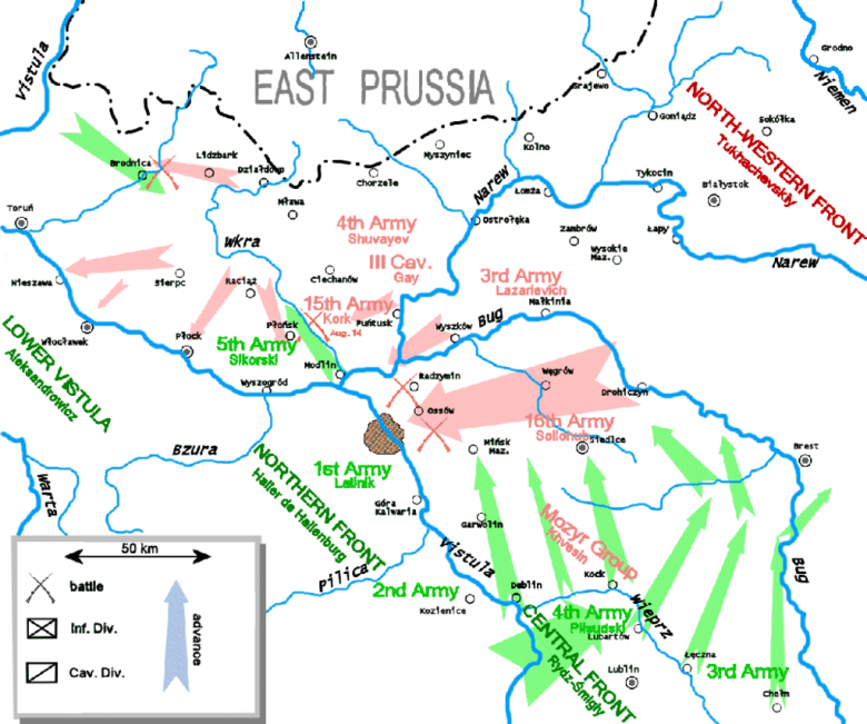 Plan Bitwy Warszawskiej