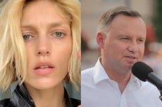 Anja Rubik zwróciła się do Andrzeja Dudy