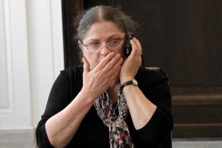 Prof. Krystyna Pawłowicz broniła i wciążbroni SKOK-i i Grzegorza Biereckiego