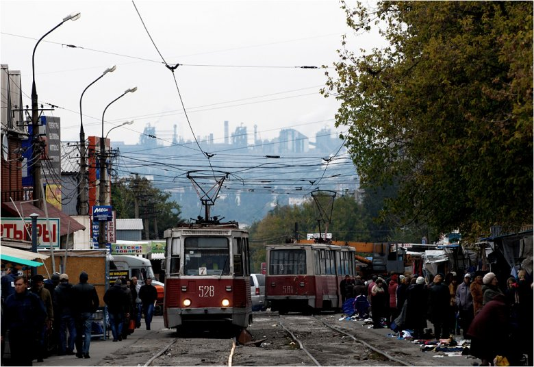 Mariupol to biedne przemysłowe miasto