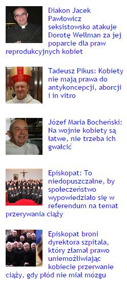 5 najpopularniejszych postów na blogu Watykanizacja