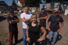 Justyna Sawicka porzuciła karierę pop-rockowej wokalistki i prowadzi skup złomu z mężem