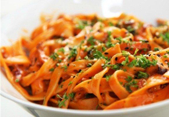 W Moskwie Robiła Spaghetti Nawet Na Sedesie Boskie Kluchy