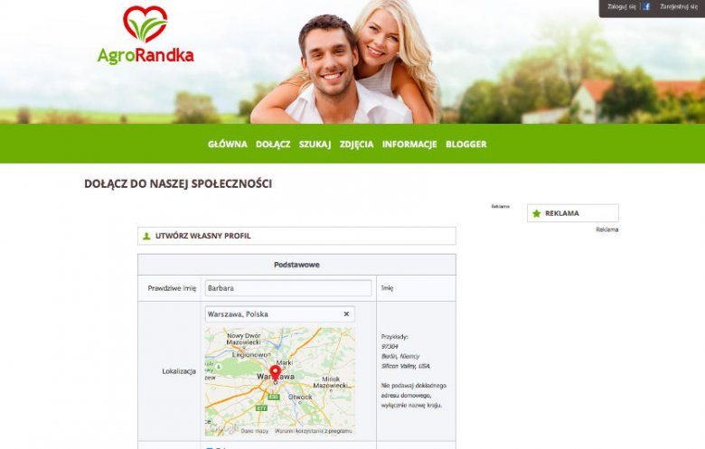 rolnicy reklama randkowa Single Reizen Randki