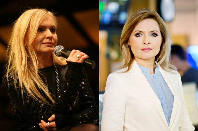 Monika Olejnik i Agnieszka Gozdyra