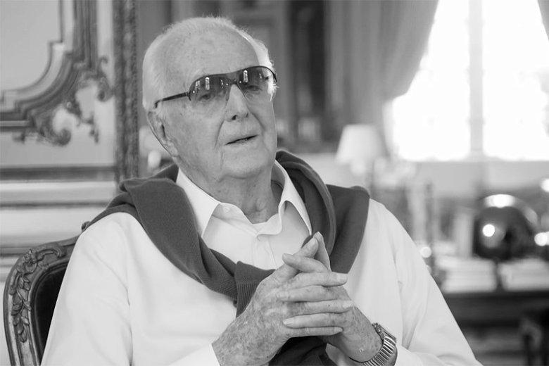 Hubert James Marcel Taffin de Givenchy zmarł w wieku 91 lat.