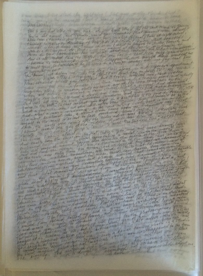 SEVEN FATHERS (Letter To), 2014