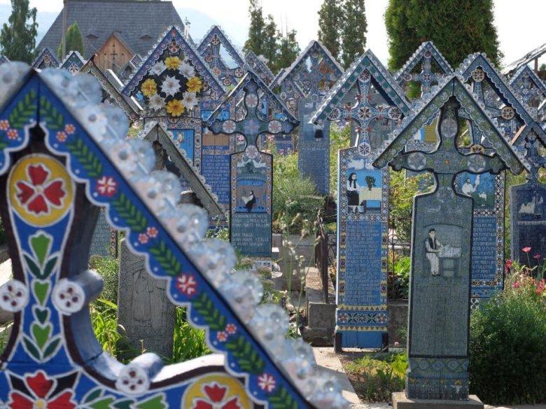 Wesoły Cmentarz w Sapancie, Rumunia
