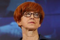 Elżbieta Rafalska odniosła się w swojej wypowiedzi do pomysłów z obejściem ustawy o zakazie handlu w niedzielę.
