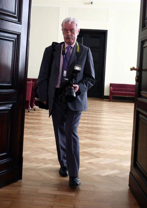 Fotograf premiera Grzegorz Rogiński jeszcze przed zwolnieniem