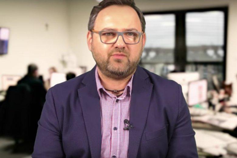 Wojciech Biedroń, pracownik portalu, tygodnika i internetowej telewizji braci Karnowskich.