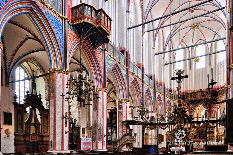 W kościele św. Mikołaja w Stralsundzie